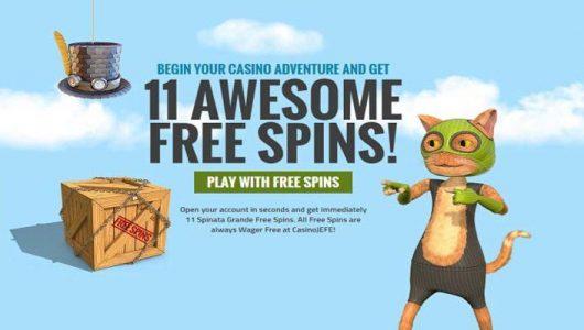casino jefe gratis spins