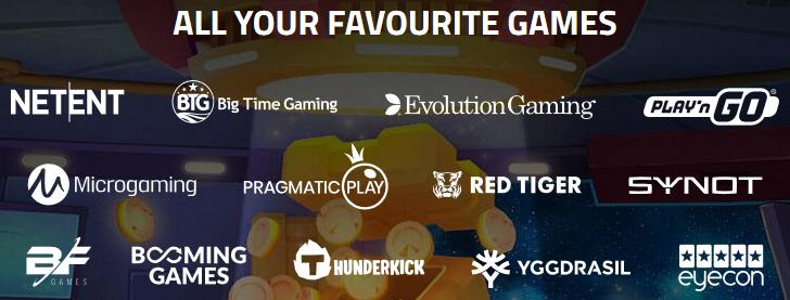 Luckydino casino gokkasten aanbod