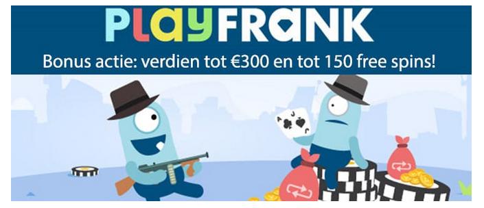 Playfrank casino bonus aanbiedingen