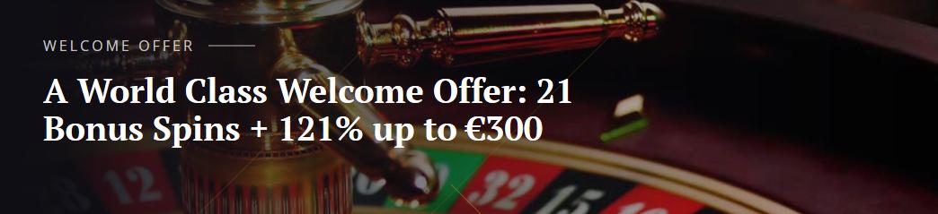 bonus aanbod 21Casino