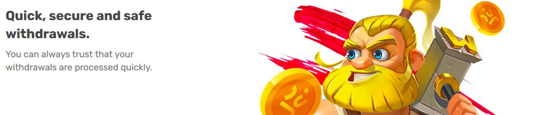 Snelle uitbetalingen bij het Justspin casino