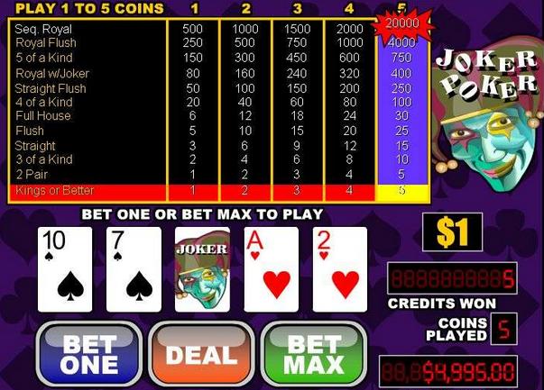 casino spellen lijst