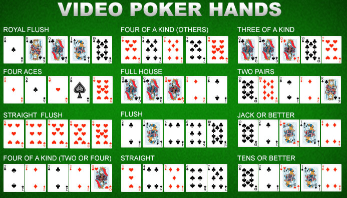 video poker spelletjes