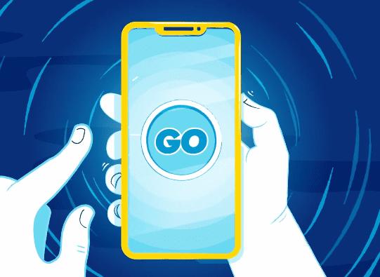 Goslotty casino spelen op een app