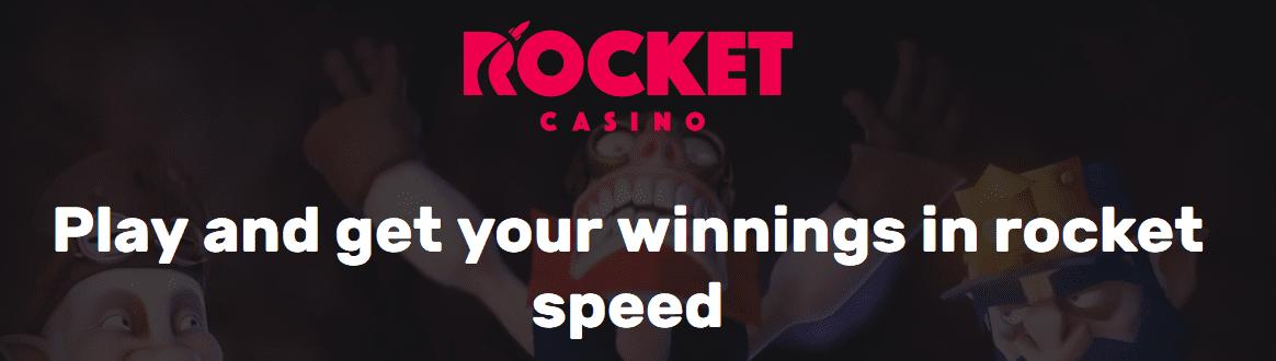 spelen en cashen zonder registratie bij Rocket casino
